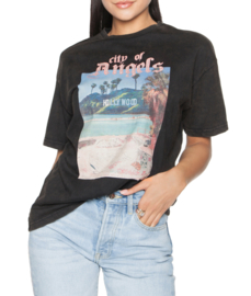 LA Sisters 'Angels Tee' - black