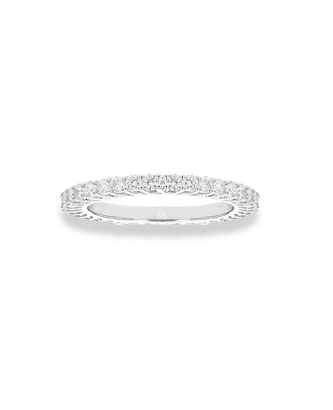 LA Sisters 'Mini Eternity Ring' - zilver