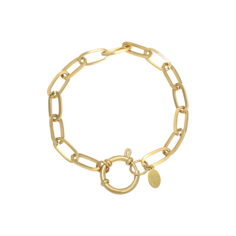 Armband 'Chain Eve' - goud