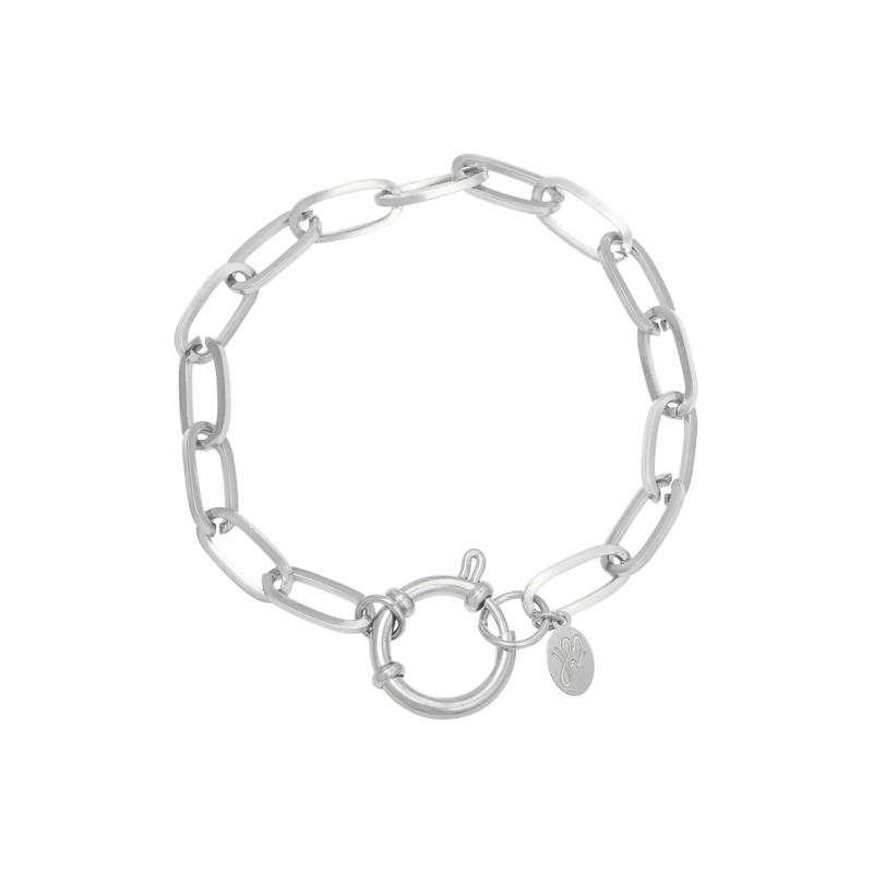 Armband 'Chain Eve' - zilver