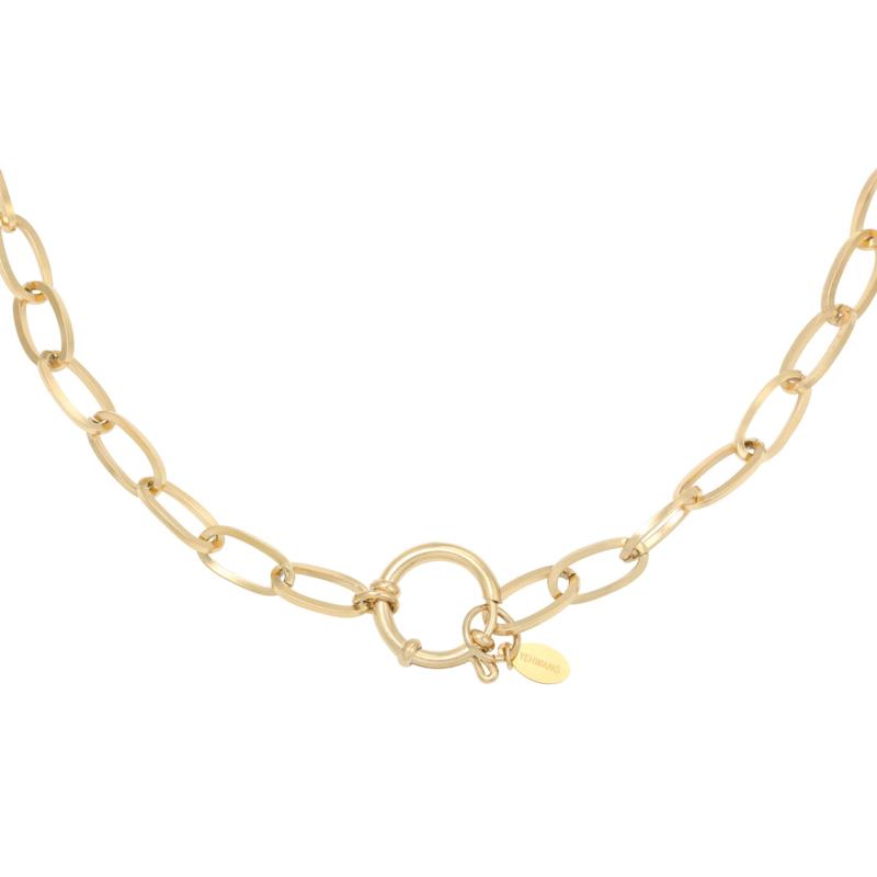 Ketting 'Chain Eve' - goud