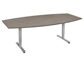 KWA_Line T-poot vergadertafel (tonvormig)