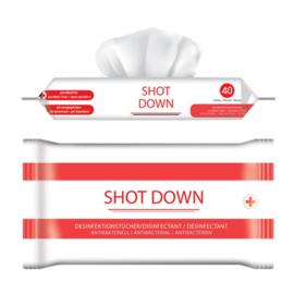 Shotdown desinfectiedoekjes