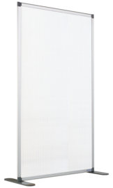 Scheidingswand semi-transparant 120x140 cm.