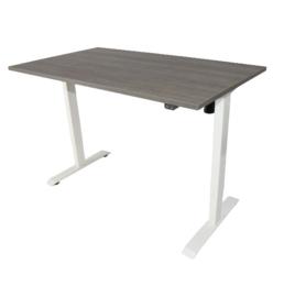 Elektrisch verstelbaar zit-sta frame/bureau wit