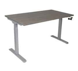 Slinger verstelbaar zit-sta frame/bureau grijs