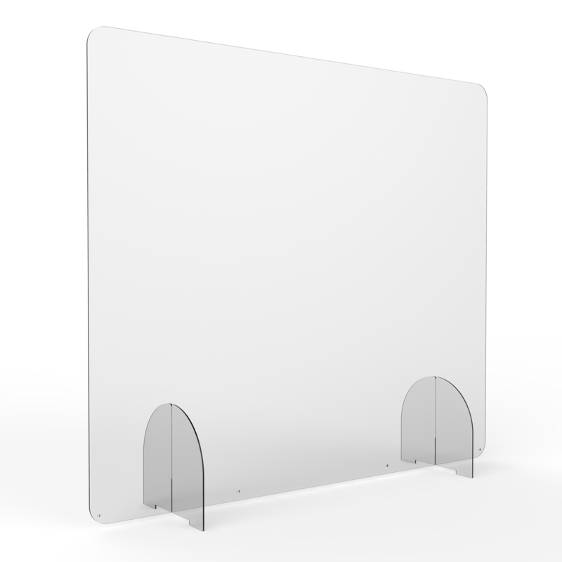 Preventiescherm 100 x 80 (bxh) zonder opening