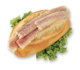 Broodje Gerookte paling met cocktailsaus