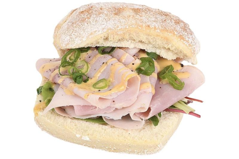 Broodje Ham met mosterd