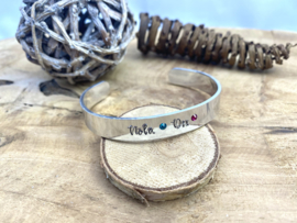 Armband met geboortesteentjes