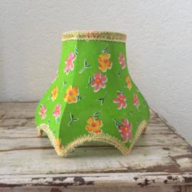 Barok lampenkapje groen