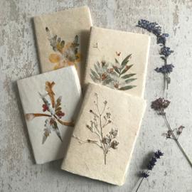 Notebook droogbloemen 4