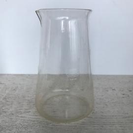 Vintage laboratoriumglas kan Leerdam