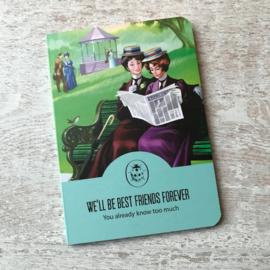 Vintage notebook Best Friends
