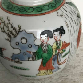 Set Chinese porseleinen potten