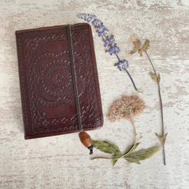 Leren notebook