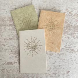 Notebook zon mandala cremewit
