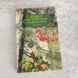 Boek Bomen en struiken Moussault