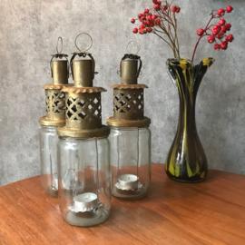 Glazen vaas uit de 70s