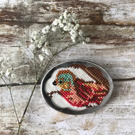 Broche Birdie van Tessa Randi