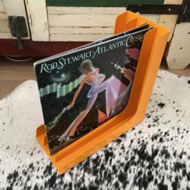 Vintage platenrek  'Orange'