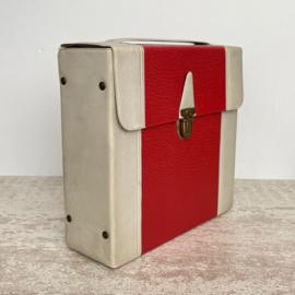 Vintage koffertje singletjes