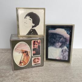 Set vintage fotokubus