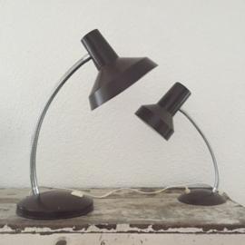 Set industriële (bureau) lampen