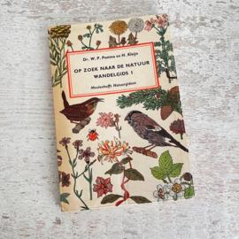 Boekje Op zoek naar de natuur wandelgids 1