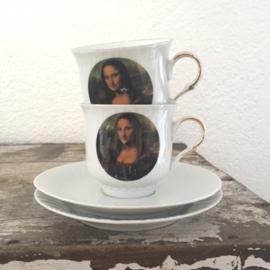 Kop & schotels Mona Lisa