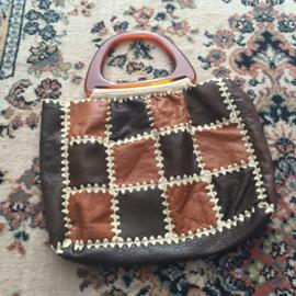 Sixties boho shopper patchwork