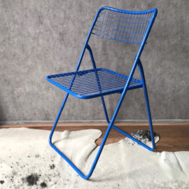 Niels Gammelgaard 'folding chair' BLUE
