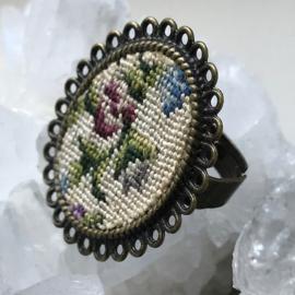 Ring Fleur de lis van Tessa Randi
