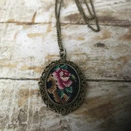 Ketting Vintage rose van Tessa Randi