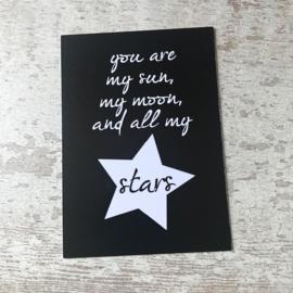 Ansichtkaart STARS