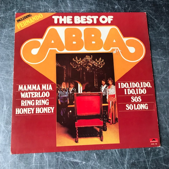 LP ABBA The Best Of
