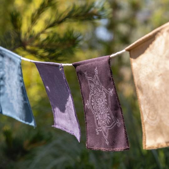Mandala fairtrade vlaggetjes