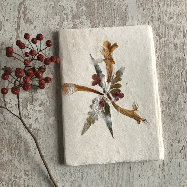 Notebook droogbloemen 5