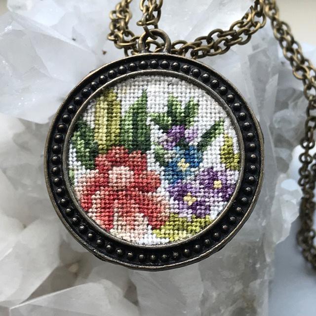Ketting Wilde bloemen van Tessa Randi