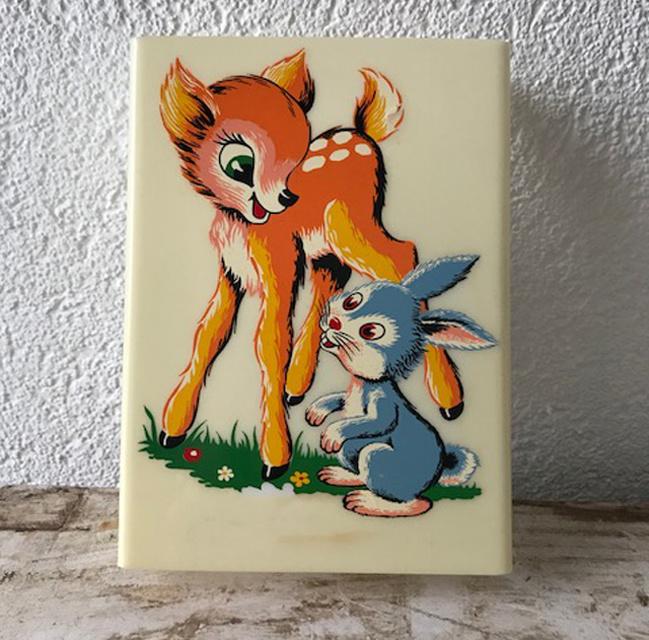 Vintage wandlampje Bambi