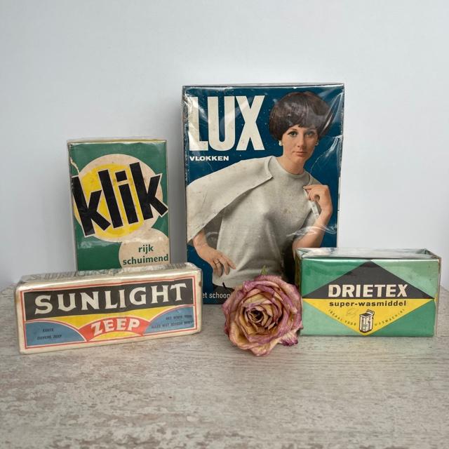 Vintage zeep Lux Sunlight Klik Drietex