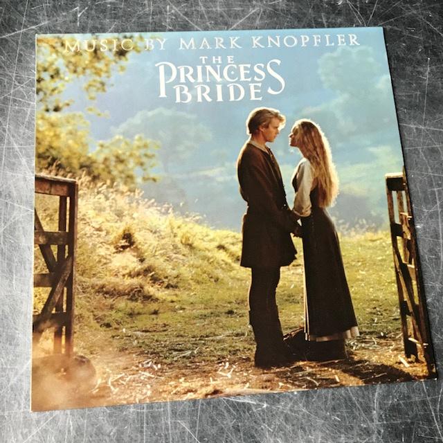 LP Mark Knopfler The Princess Bride