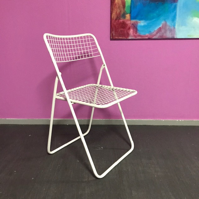 Niels Gammelgaard 'folding chair' wit