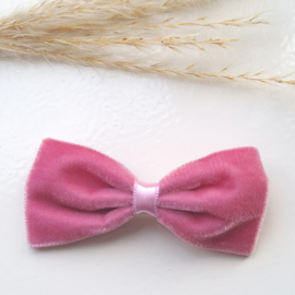 Haarclip 8cm Velvet Pale Pink (526)