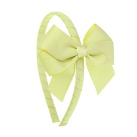Siena Diadeem Ribbon Strik 6779 Lemon Yellow (631)