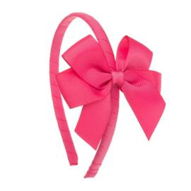 Siena Diadeem Ribbon Strik 6779 Pink