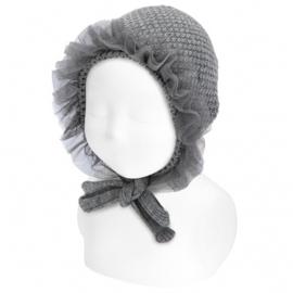 Cóndor Baby Bonnet Muts 50.509.011 Grijs (230)