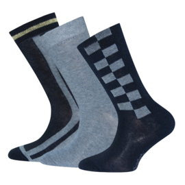 Ewers 3-Pack Socks 201132 Navy/Jeans (0002)