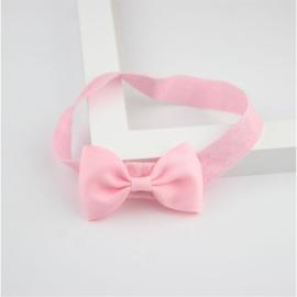 Haarband Strik Roze