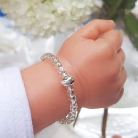 ARZ201-221 Armbandje Zilver